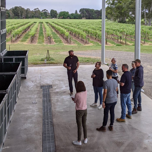 BOOK NOW: Barrel Hall & Winery Tour